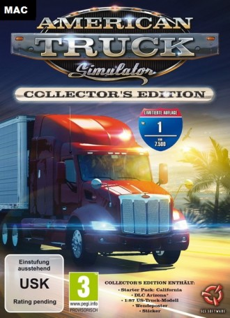 American Truck Simulator : New Mexico | MacOSX Free Download