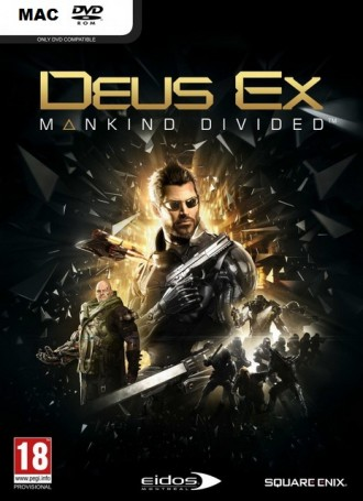Deus Ex: Mankind Divided | MacOSX Free Download