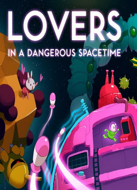 Lovers in a Dangerous Spacetime mac osx cover